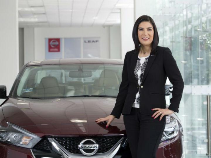 Para Mayra González, CEO de Nissan México, las nuevas tecnologías son el ADN de la compañía, y ella las impulsa. Foto: Nissan