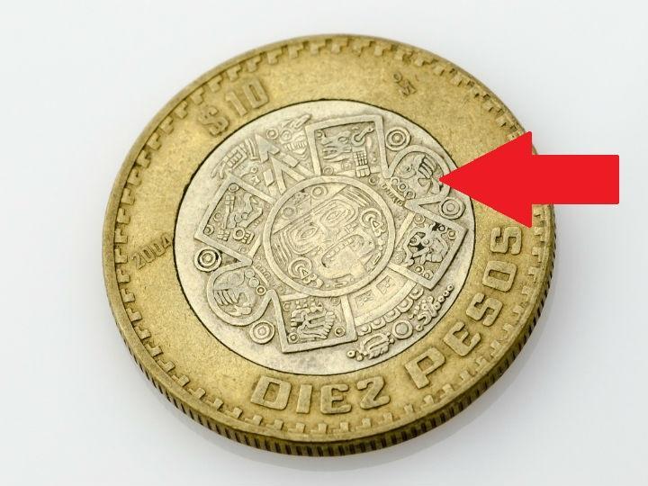 49bcb67a73f Qué pasa si unes los anillos de las monedas de 1, 2, 5 y 10 pesos ...
