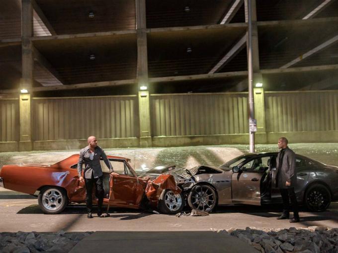 Esto Hicieron Con Los Autos Destrozados De Rapidos Y Furiosos
