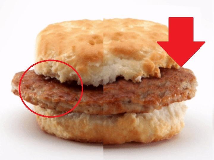 Así se ve la comida de McDonald's antes de ser retocada para los anuncios