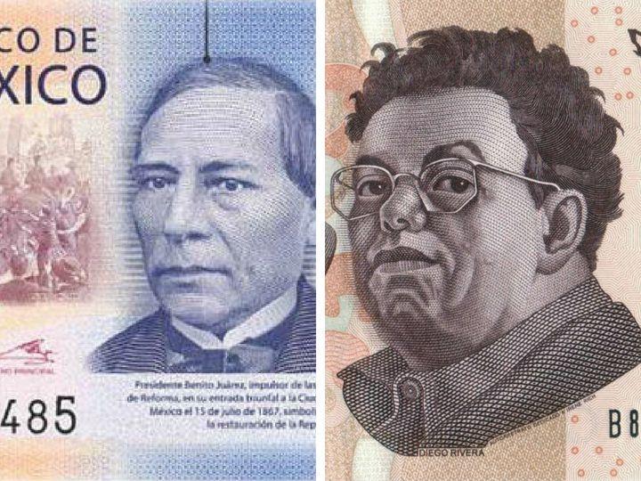 Los personajes que han aparecido en todos los billetes de 500 pesos
