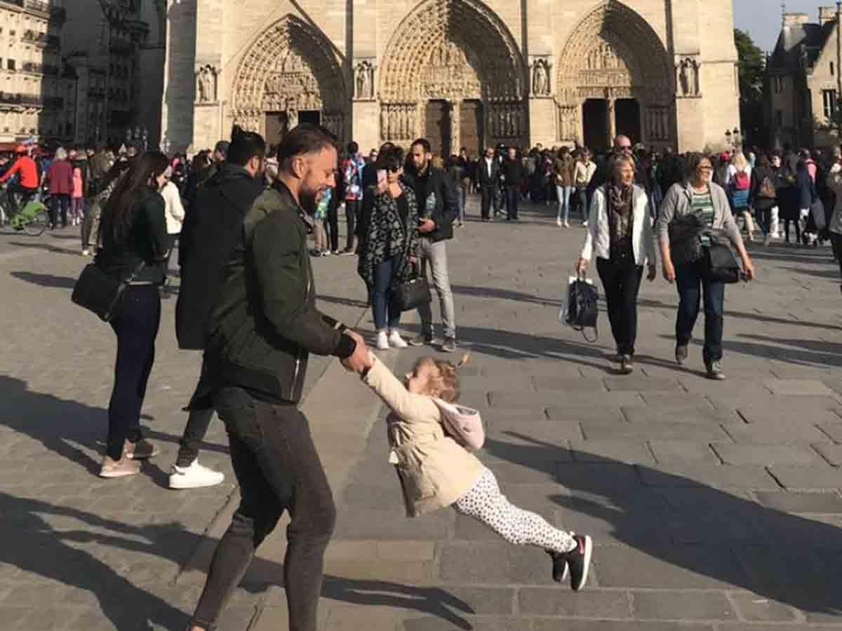 Esta fue la última foto de Notre Dame antes del incendio