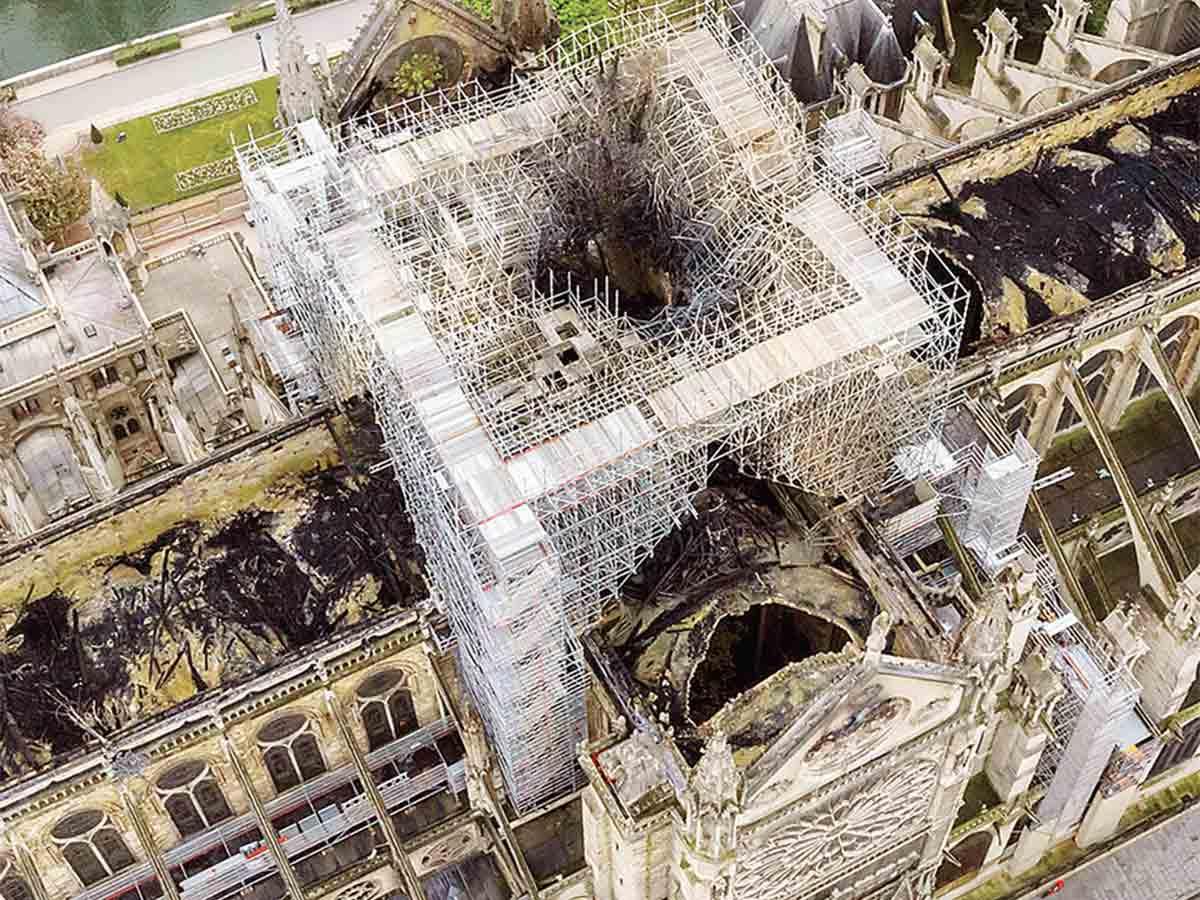 Ponen en consulta el rediseño de Notre Dame