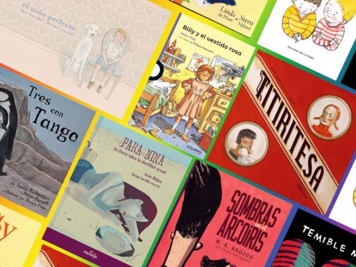 Libros para hablar sobre diversidad sxual con nuestros hijos