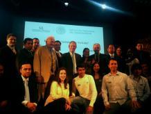 15 proyectos de emprendedores mexicanos fueron reconocidos por el embajador estadounidense, Anthony Wayne. Foto: Especial.