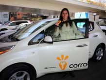 Jimena Pardo es la fundadora y Directora Comercial de Carrot, la primera empresa de autos compartidos en México que ya se expande a otras ciudades. Foto: Archivo Excélsior.