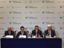 """El presidente del Inadem resaltó el papel de Yucatán como un """"aliado estratégico relevante para la política de apoyo a Pymes y emprendedores. Foto: Darinka Rodríguez"""