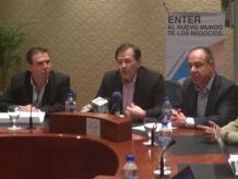 El director general de Alestra, Rolando Zubirán indicó que su compañía tiene amplio interés en participar y fomentar la participación de la iniciativa privada en esta materia. Foto: Darinka Rodríguez