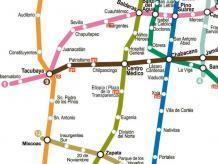 Ahora tenemos la renta mensual promedio vista en un mapa del Metro. Foto: GDF