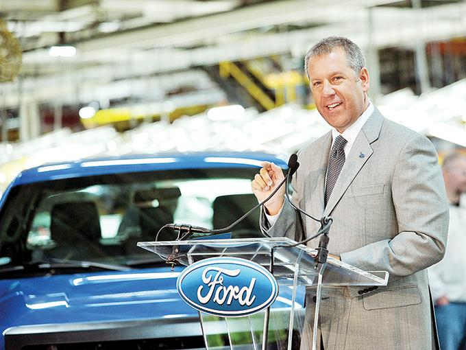 El presidente de las Américas para Ford, Joseph Hinrichs dijo que México es clave para su operación. Foto: Especial