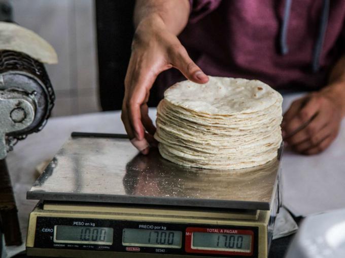 Cuántos kilos, joven? Kilo de tortilla se podría elevar hasta los $20