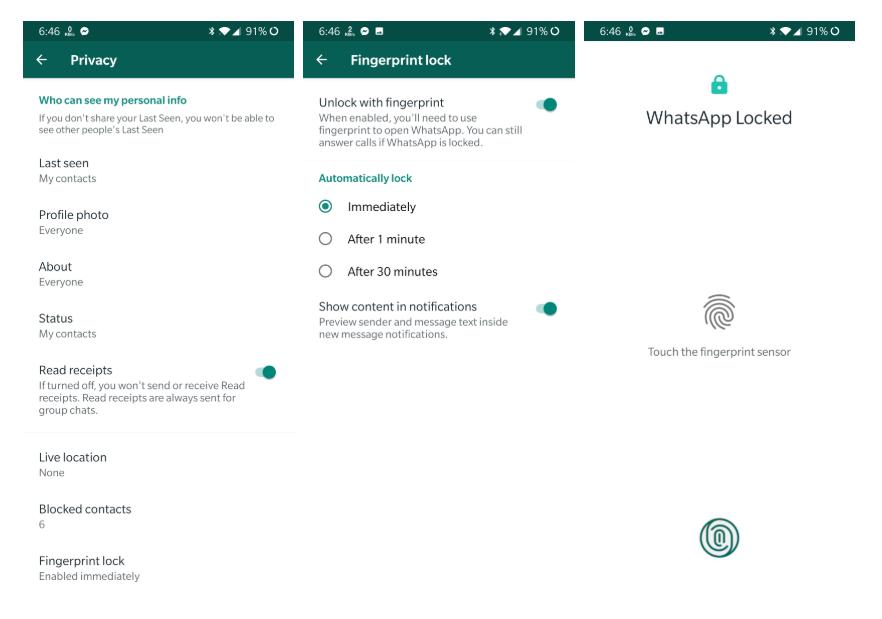whatsapp-bloqueo-huella